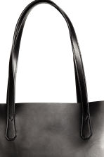 Shopper with a clutch bag - Black - Ladies | H&M 4