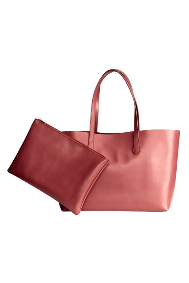 Shopper con clutch - Rosa vintage - DONNA | H&M IT 1