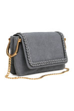 Shoulder bag - Blue-grey - Ladies | H&M CN 2