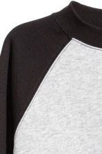 Cropped sweatshirt - Black - Ladies | H&M 3