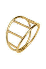 4-pack napkin rings - Gold - Home All | H&M CA 3