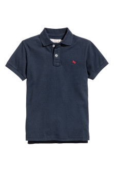 Generous fit Polo shirt