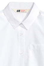 Generous fit Easy-iron shirt - White - Kids | H&M 2