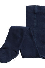 2-pack tights - Dark blue - Kids | H&M 3