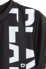 Sports top - Black - Kids | H&M CN 5