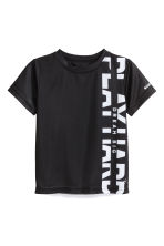 Sports top - Black - Kids | H&M CN 2