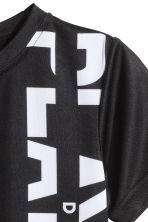 Sports top - Black - Kids | H&M 4
