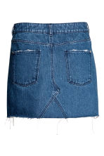 Short denim skirt - Denim blue - Ladies | H&M 3