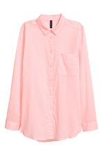 Cotton shirt - Light pink - Ladies | H&M 2