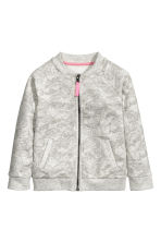 Bomber jacket - Grey/Butterflies - Kids | H&M 2
