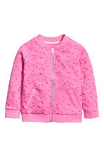 Bomber jacket - Cerise/Heart - Kids | H&M 2