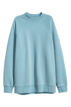 Sweatshirt with raglan sleeves - Turquoise - Ladies | H&M CN 2