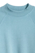 Sweatshirt with raglan sleeves - Turquoise - Ladies | H&M CN 3