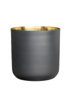 Tall metal plant pot - Anthracite grey - Home All | H&M CN 2
