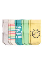5-pack socks - Light yellow - Kids | H&M CN 2