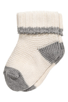 Cotton-blend socks