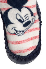 Moccasins - Natural white/Mickey Mouse - Kids | H&M 2