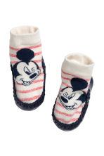 Moccasins - Natural white/Mickey Mouse - Kids | H&M CN 1