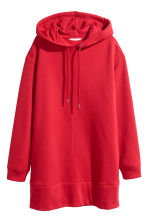 Oversized hooded top - Red - Ladies | H&M CN 2