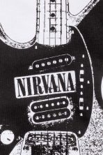 Printed T-shirt - White/Nirvana -  | H&M CN 3