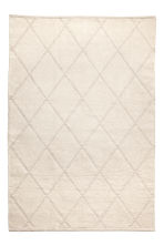 Tapis en coton - Beige clair - Home All | H&M FR 1