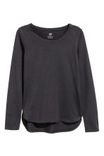 2-pack tops - Dark grey - Kids | H&M 2