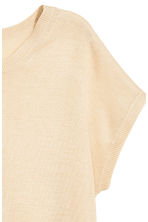 Fine-knit top - Light beige - Ladies | H&M 2