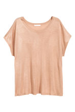 Top in maglia fine - Beige - DONNA | H&M IT 2