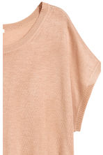Top in maglia fine - Beige - DONNA | H&M IT 3