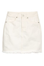 Gonna in twill - Bianco naturale - DONNA | H&M IT 2