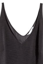 V-neck vest top - Dark grey - Ladies | H&M 2