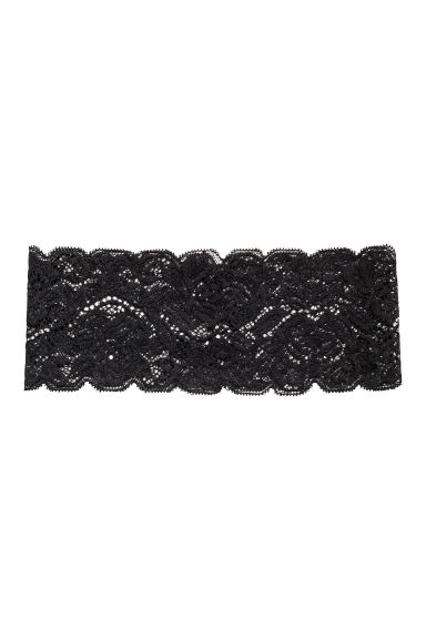 Lace hairband - Black - Ladies | H&M CN 1