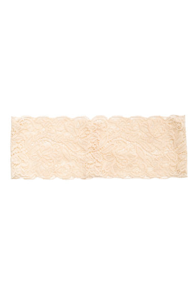 Lace hairband - Light beige - Ladies | H&M 1