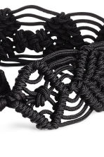 Braided waist belt - Black - Ladies | H&M 2