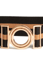 Elastic waist belt - Black/Camel - Ladies | H&M CA 2