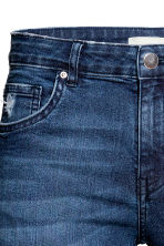 Skinny Regular Jeans - Dark denim blue - Ladies | H&M 5