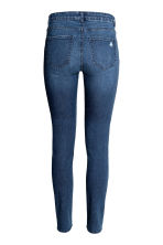Skinny Regular Jeans - Dark denim blue - Ladies | H&M 4