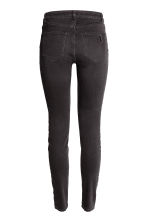 Skinny Regular Jeans - Nearly black - DAMES | H&M BE 4