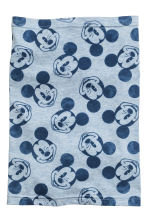 Jersey tube scarf - Light blue/Mickey Mouse -  | H&M CN 2