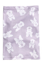 Jersey tube scarf - Purple/Minnie Mouse - Kids | H&M CN 2