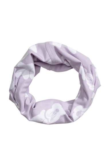 Jersey tube scarf - Purple/Minnie Mouse - Kids | H&M CN 1
