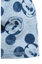 Jersey hat - Light blue/Mickey Mouse -  | H&M 2