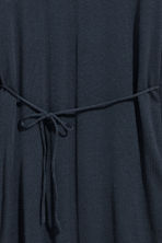 Fine-knit tunic - Dark blue - Ladies | H&M CN 3