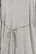 Fine-knit tunic - Grey marl - Ladies | H&M CN 3
