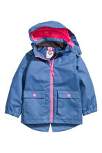 Shell parka - Blue -  | H&M CA 2