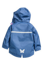 Shell parka - Blue -  | H&M 3