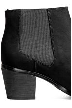 Ankle boots with pointed toes - Black - Ladies | H&M CN 5
