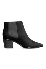Ankle boots with pointed toes - Black - Ladies | H&M CN 2