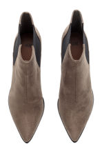 Ankle boots with pointed toes - Dark Khaki - Ladies | H&M 2