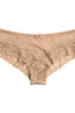 3-pack hipster briefs - Beige - Ladies | H&M 3